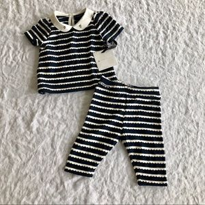 🐝NWT VB for Target Navy Outfit for baby girl 3mo